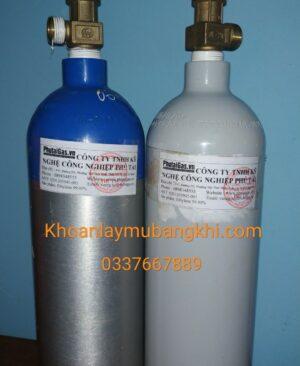 Bình khí chưa ethylene nặng 2Kg